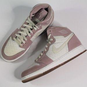 Nike Air Jordan 1 Retro HI Prem GG Plum Fog White
